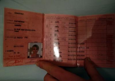 faux permis conduire