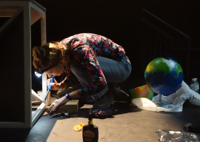 construction dun globe terrestre