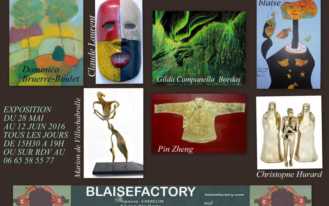 exposition à la Blaise Factory 2016